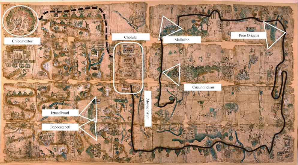 Карта Куаутинчана
