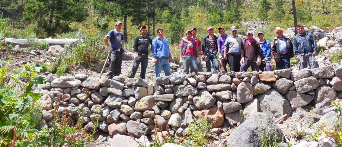 cofre de perote restauracion comunidades proyecto ccmss